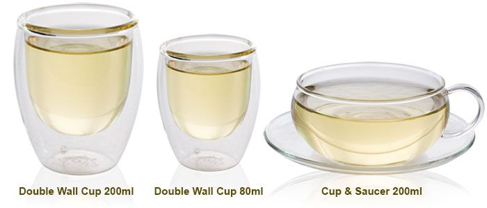 Cups for glass set