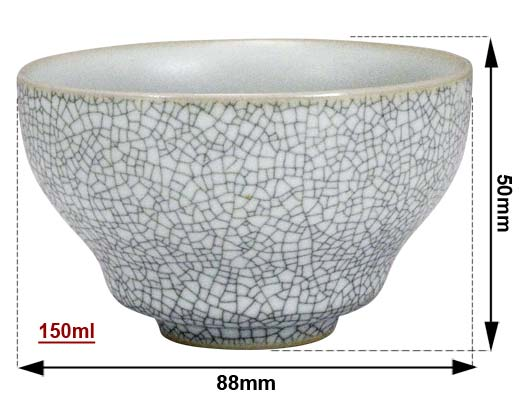 MEASURE white ruware cup