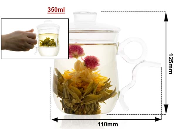 Glass Mug Sizing