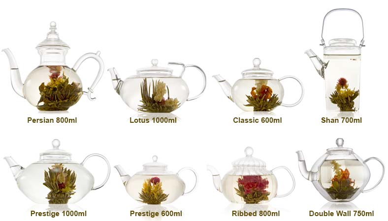 Glass Teapot Range