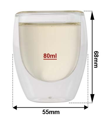 Sizing Glass Cup 80ml