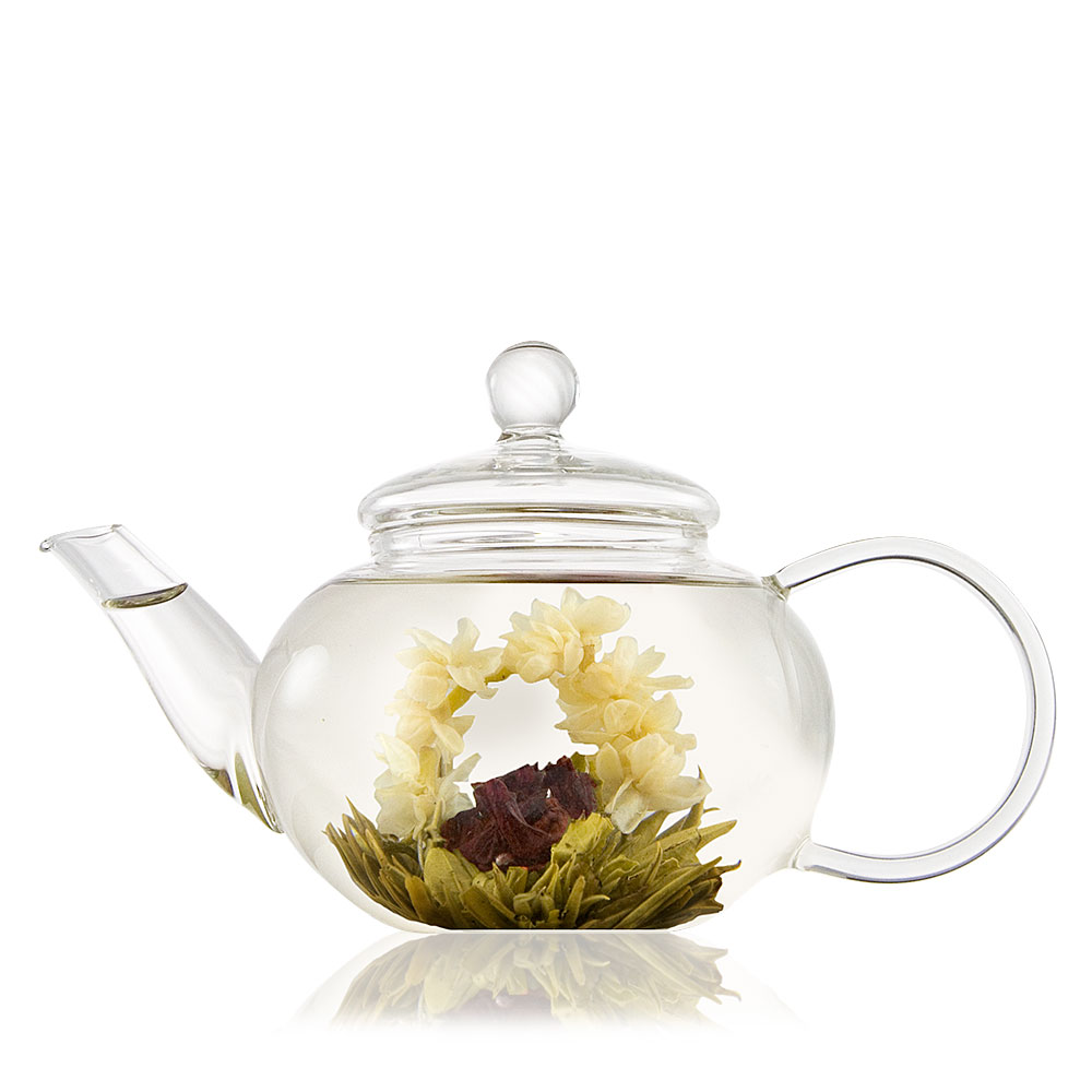 Classic Glass Teapot With Infuser 1 And 2 Cup Size