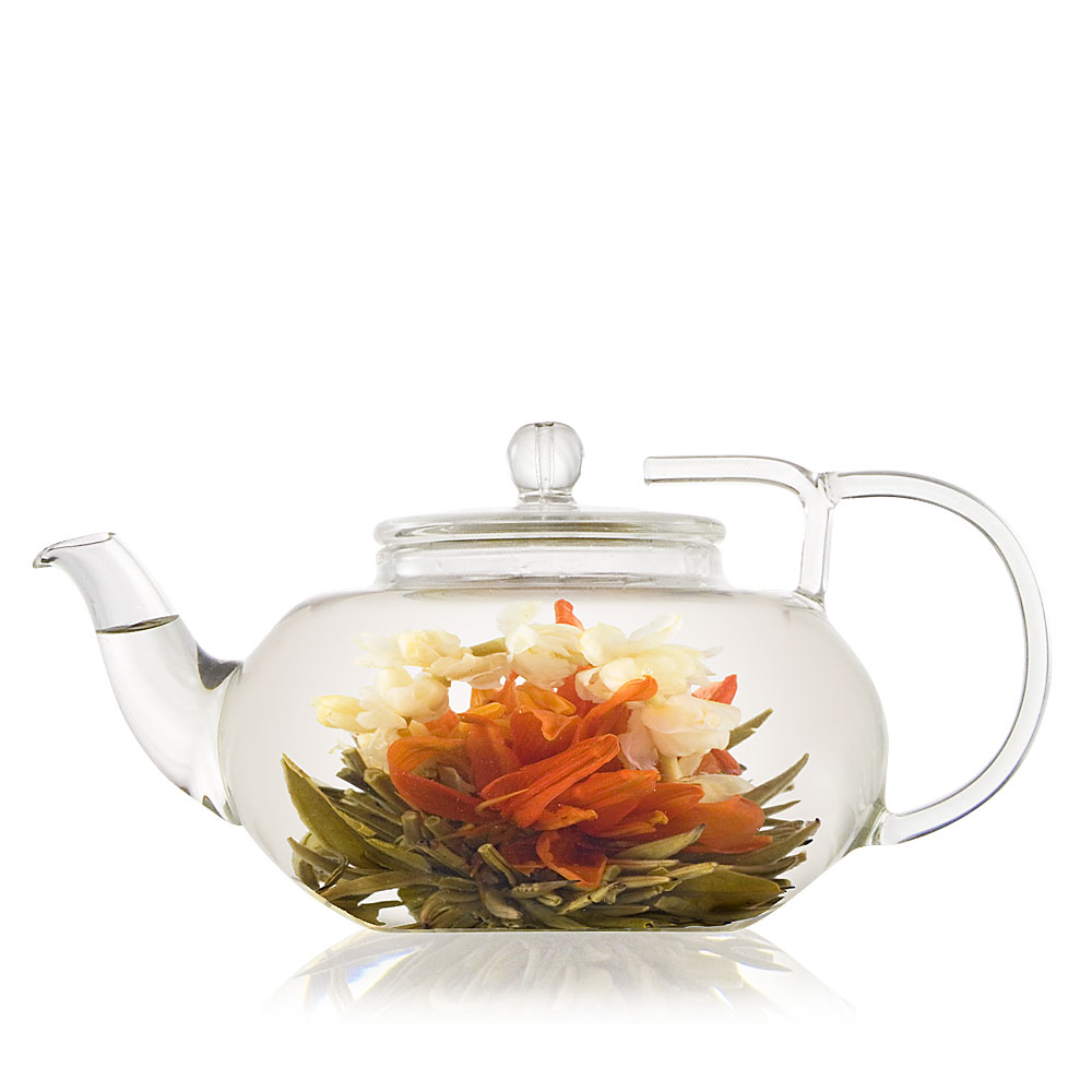 Lotus Glass Teapot
