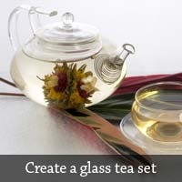 Create a Glass Tea Set