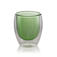 Green Glass Cup