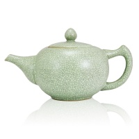 Green Ru Ceramic Teapot