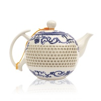 Long Ceramic Teapot