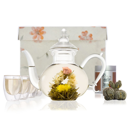 Oriental Glass Tea Set