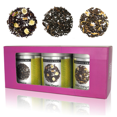 Oolong Tea Triple Selection Box