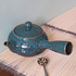 Blue Jun Ceramic Teapot