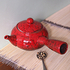 Red Jun Ceramic Teapot