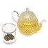 Thistle Glass Teapot with infuser