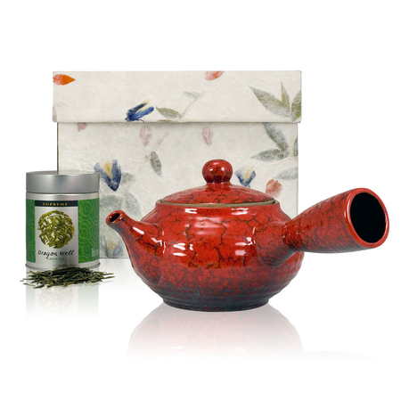 Red Jun Ceramic Set
