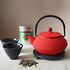 Tenshi Red Tea Set